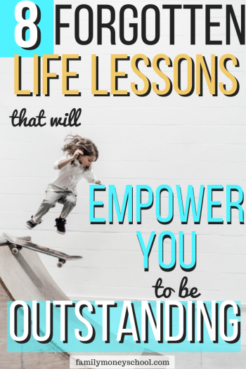 8 Life Lessons