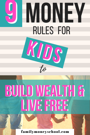 Money Rules for kids